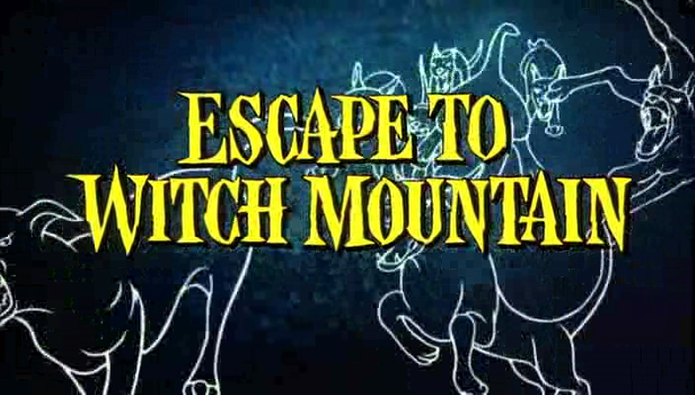Escape To Witch Mountain 10th Printing 1976