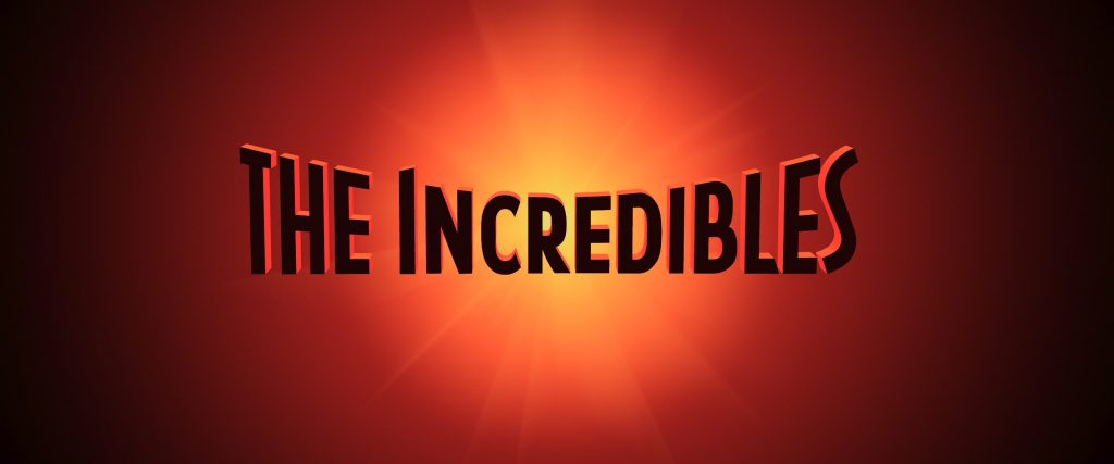 4K – The Incredibles (2004)